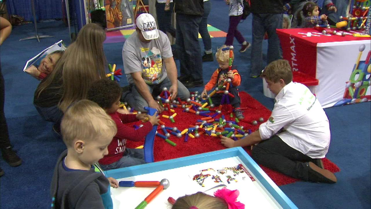 It is all fun and games this weekend at Navy Pier for the 13th annual Toy and Game Fair.