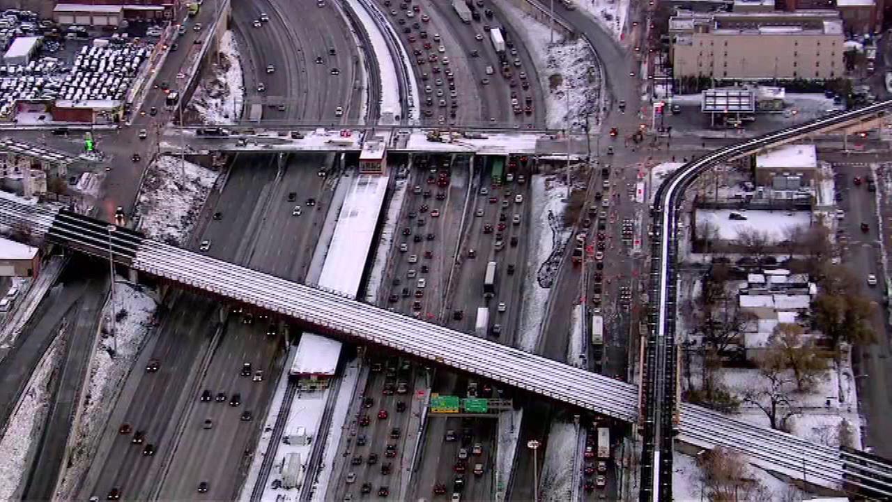 The Dan Ryan Expressway lanes will reopen Wednesday morning.