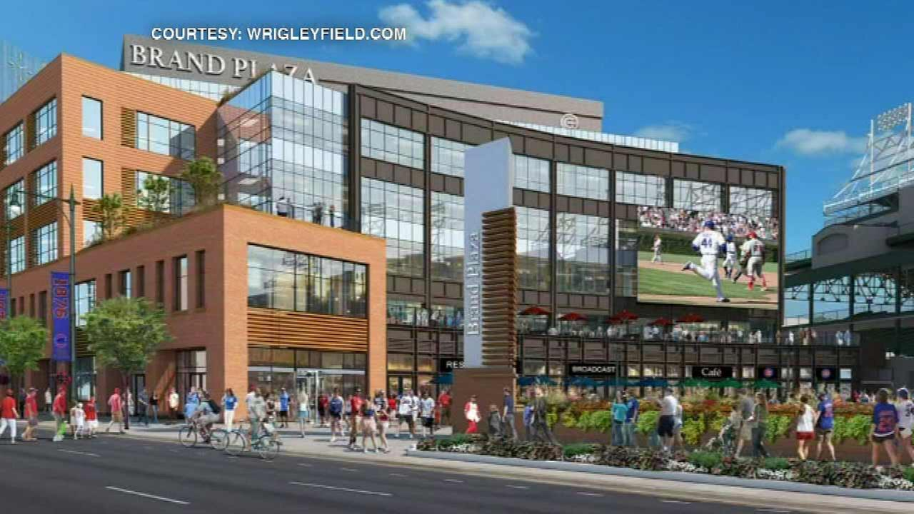 PHOTOS: Cubs plaza to feature space for ice rink, farmers markets