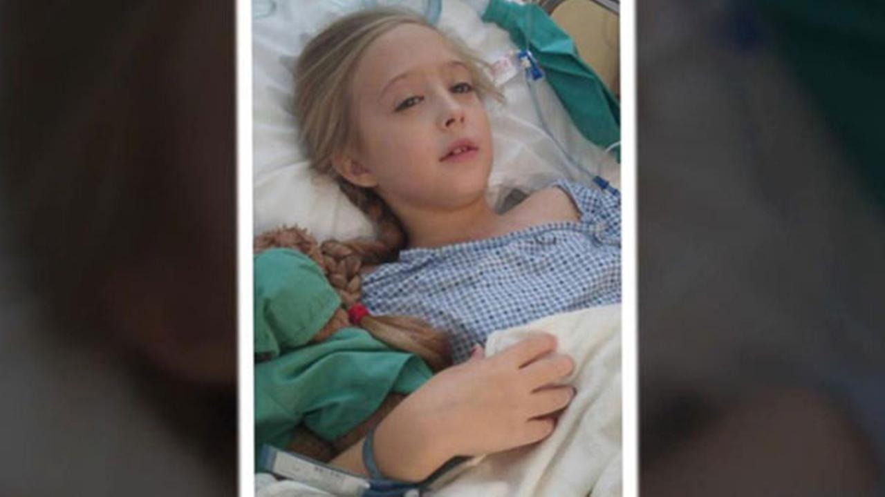 An 8-year-old Utah girl was diagnosed earlier this month with secretory breast carcinoma, a rare form of breast cancer, ABC News is reporting.