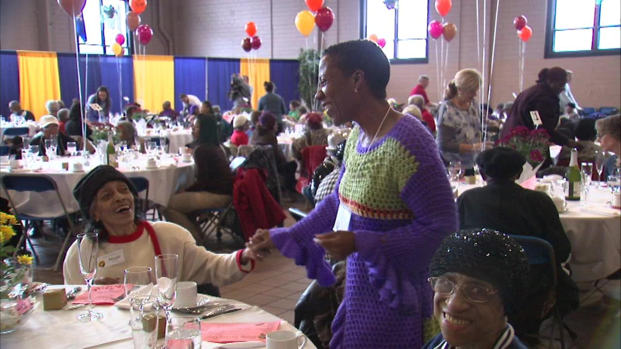Little Brothers Friends of the Elderly hosted three dinners, including one at De La Salle Institute on the citys South Side.