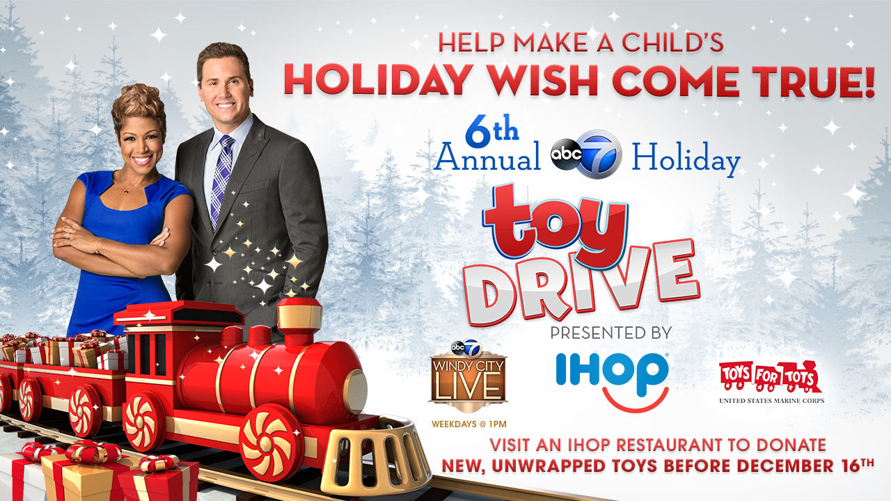 6th Annual ABC 7 Holiday Toy Drive Presented By IHOP