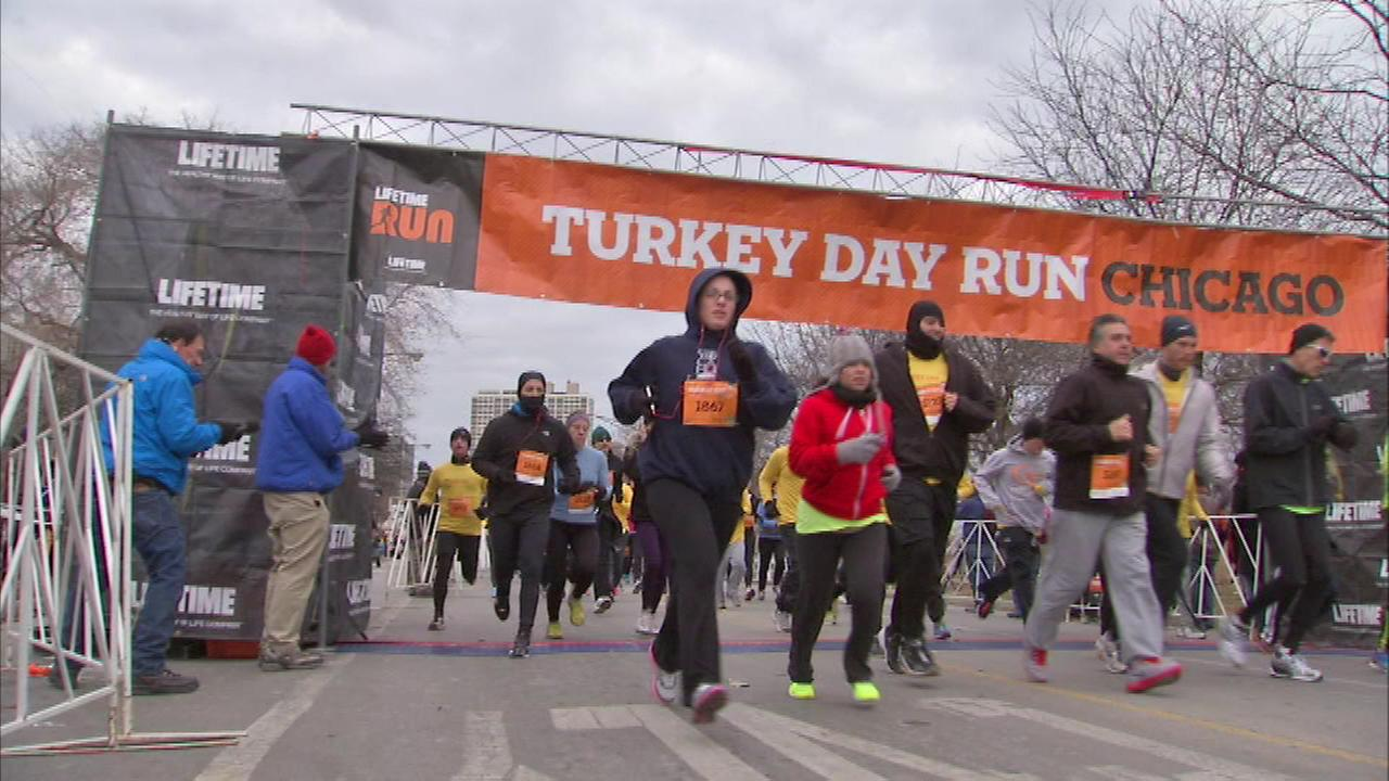 Thousands participate in the Turkey Day Run