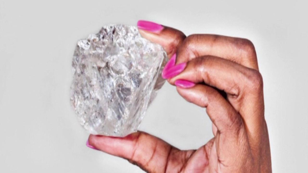 1,100-carat diamond discovered in Botswana