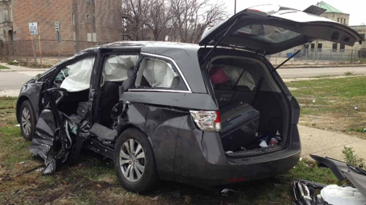 A child is in critical condition following a car crash Saturday afternoon on Chicagos South Side.