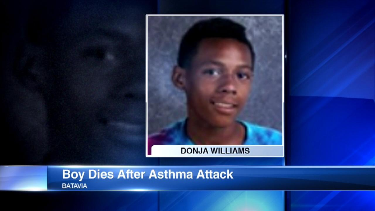 Boy, 13, dies after asthma attack