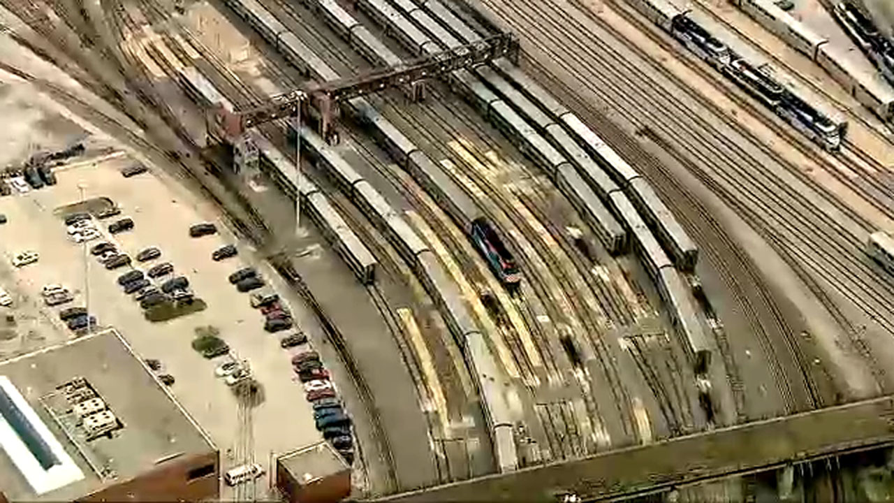 No Metra, Amtrak trains in or out of Chicago Union Station