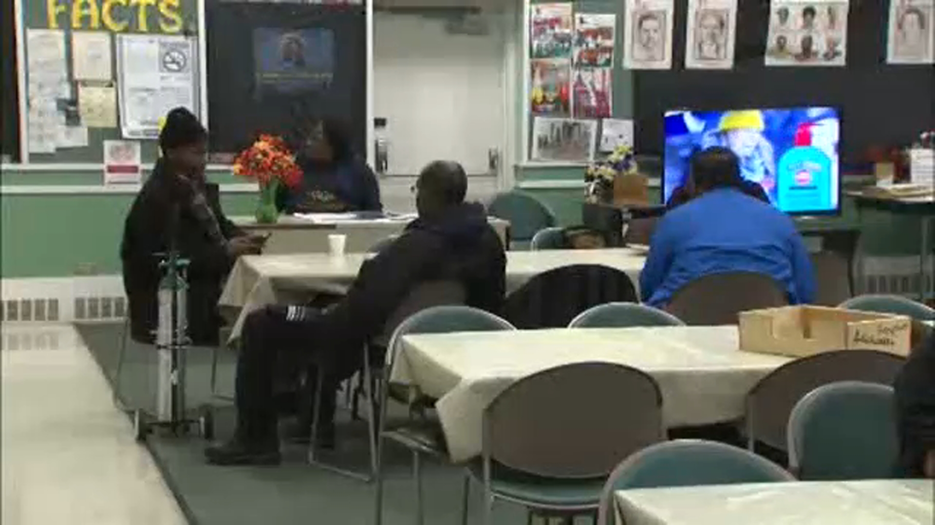 Find a Chicago area warming center near you