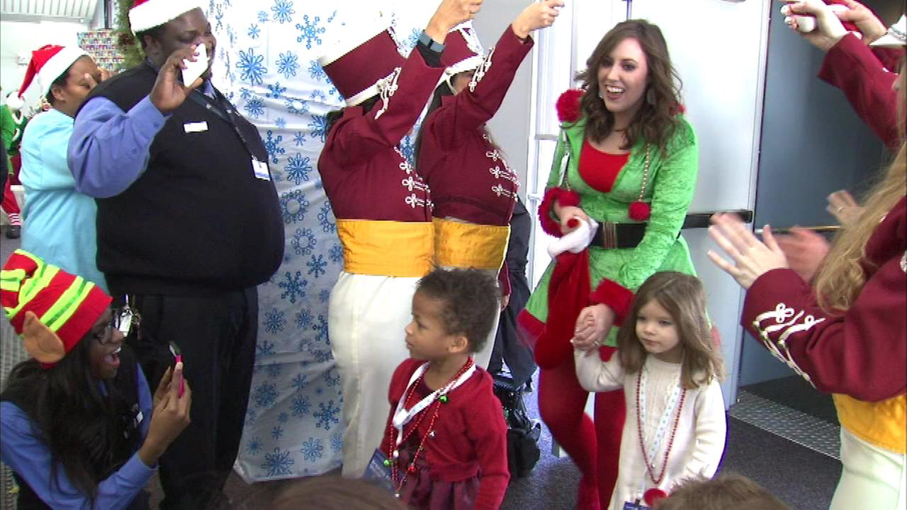 Fantasy flight a holiday treat for ill children