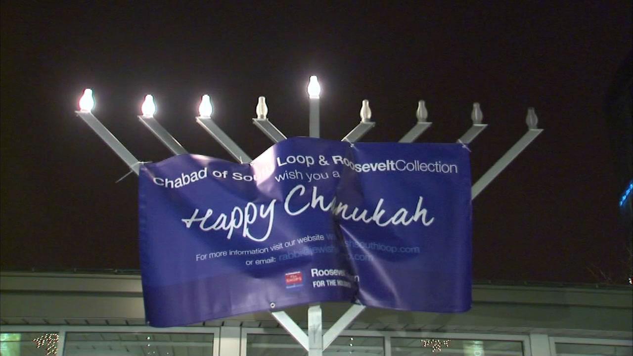 Grand menorah lighting to be held for first night of Hanukkah