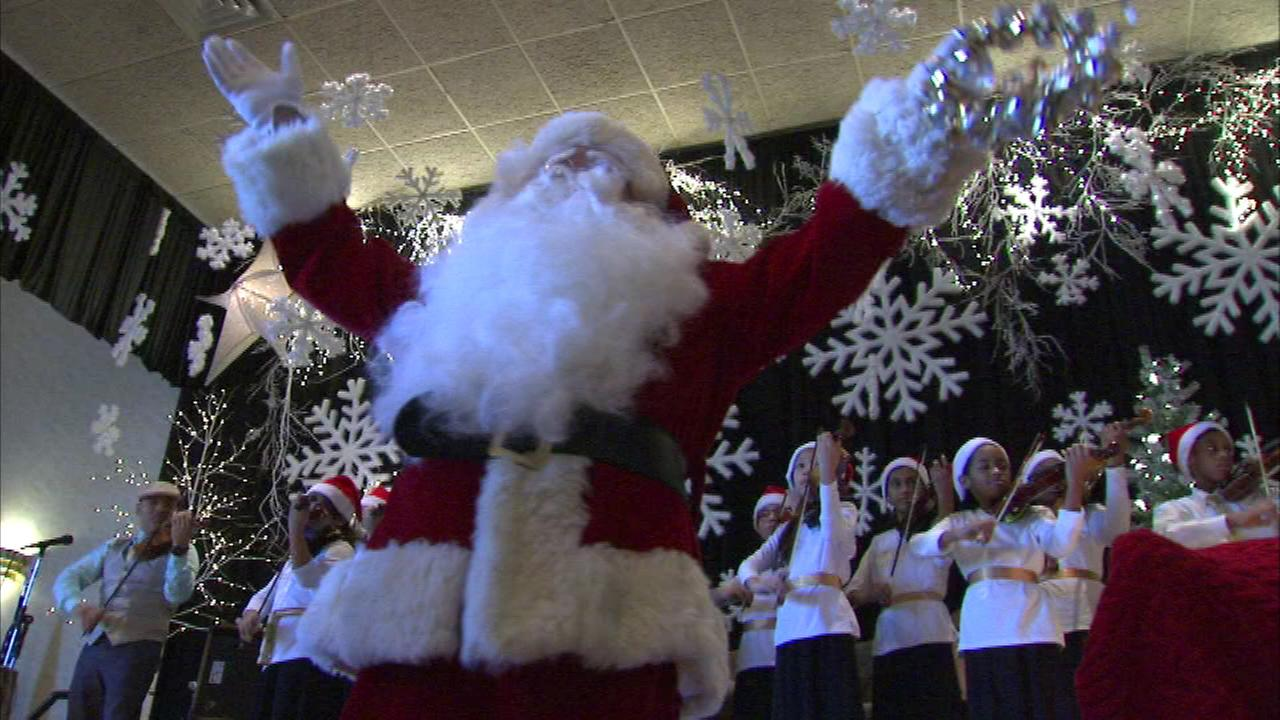 South Side club hosts holiday party for children with disabilities