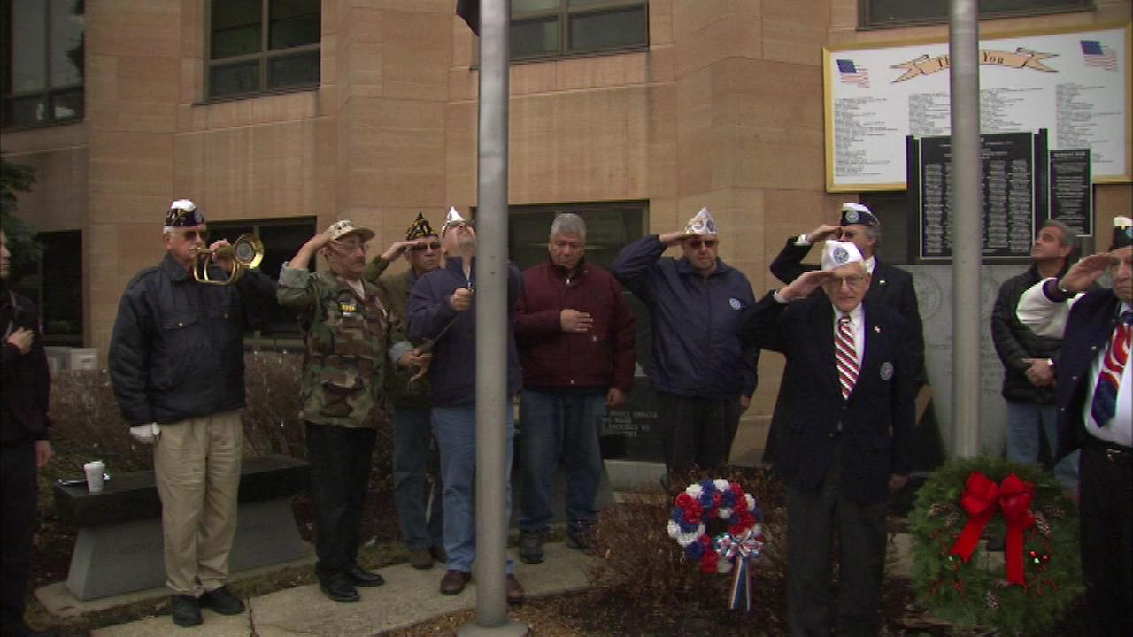 Berwyn veterans honor Pearl Harbor victims on 74th anniversary
