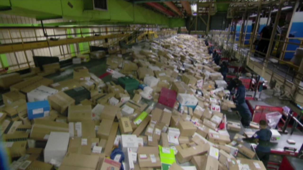 Rise in online shopping creates delays in deliveries, companies say