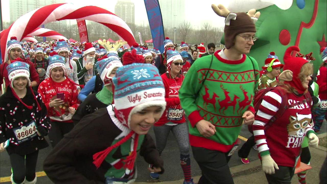 'Ugly Sweater Run' benefits 'Save the Children'