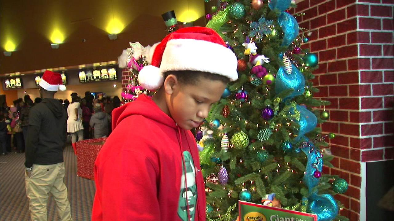 For the fourth year, a Chicago boy is bringing some holiday cheer to deserving kids.