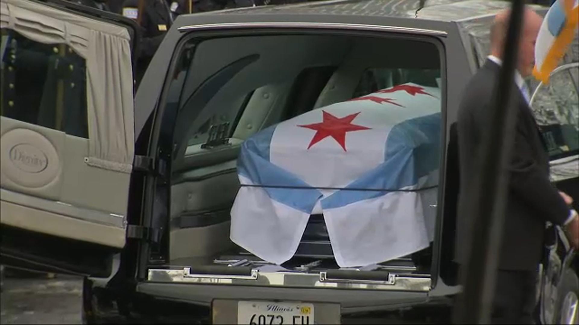 Funeral for slain Chicago Police Officer Samuel Jimenez