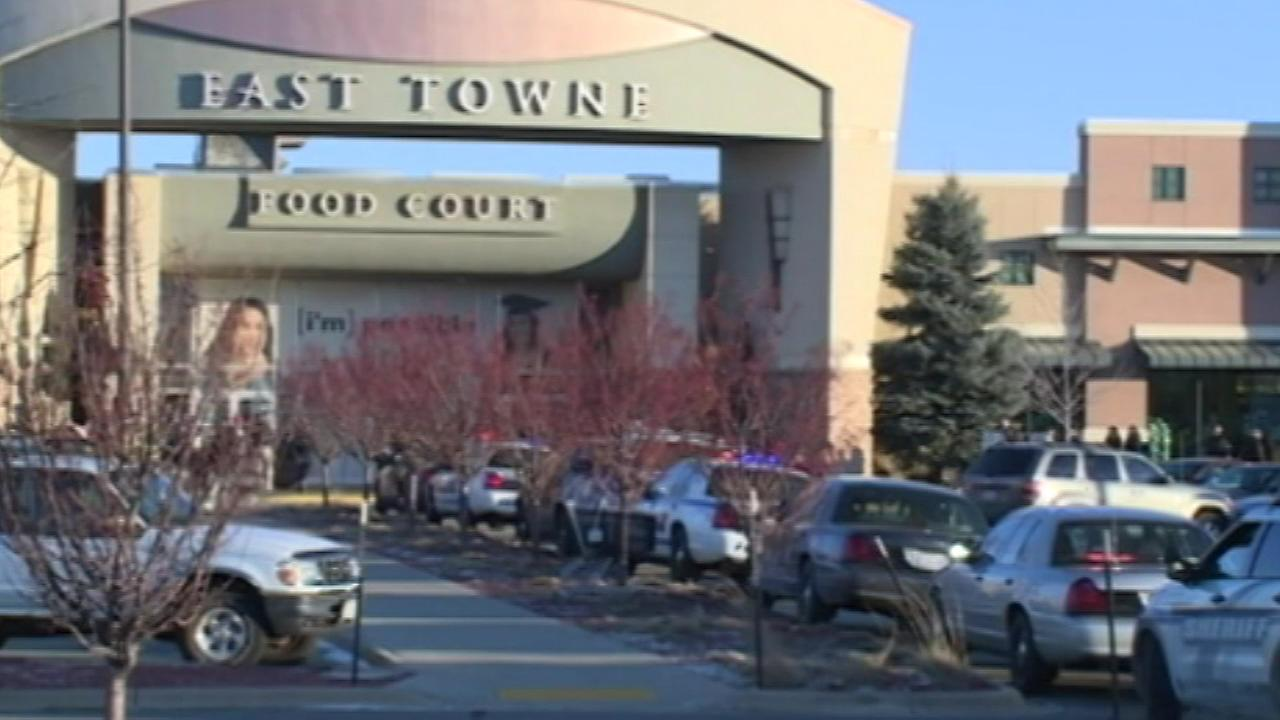 Gunfire erupts inside Wisconsin mall on busy shopping day