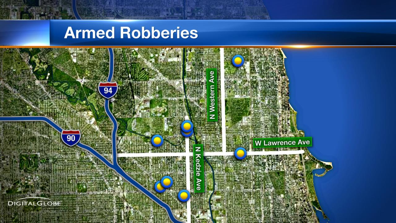 Police warn of string of armed robberies in Albany Park