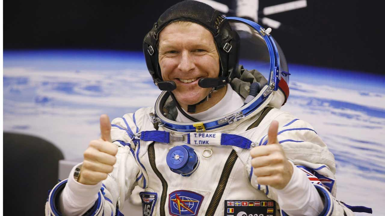 British astronaut Tim Peake, member of the main crew of the expedition to the International Space Station (ISS).