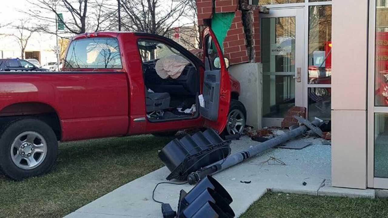 Truck crash causes extensive damage to Cicero Town Hall