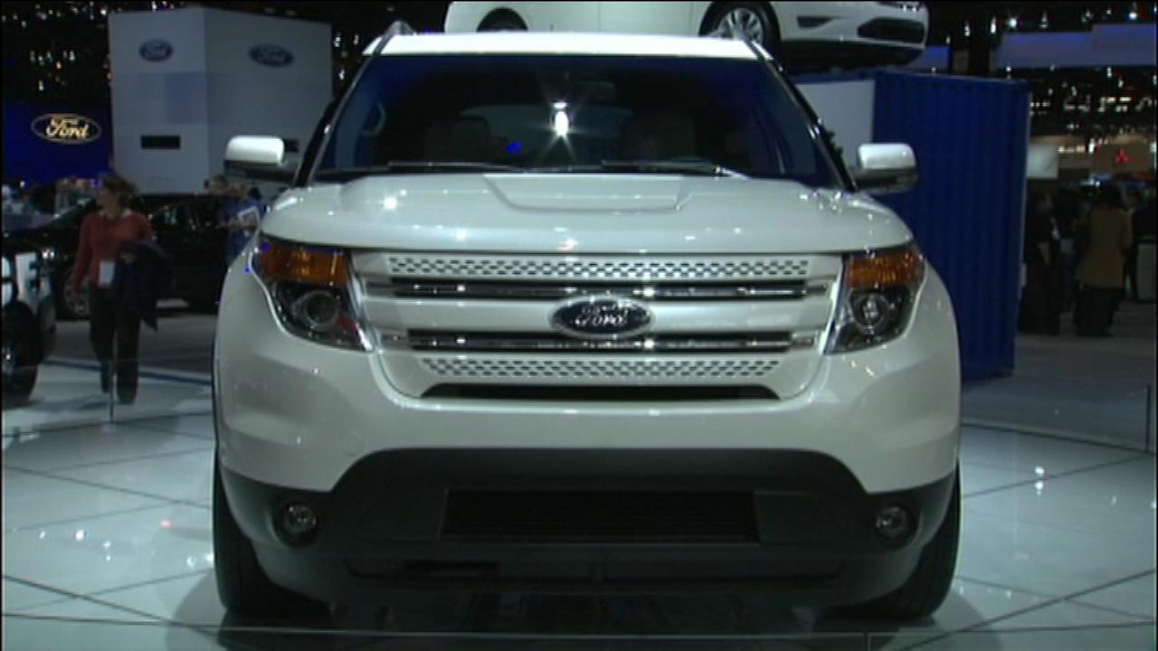 Ford Models Top List Of Most Stolen Suvs