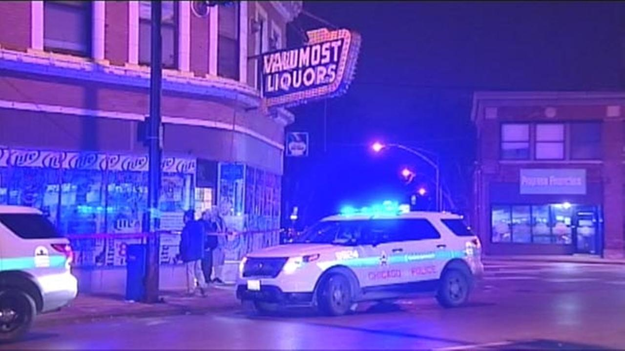 Liquor store owner fires at armed robbers