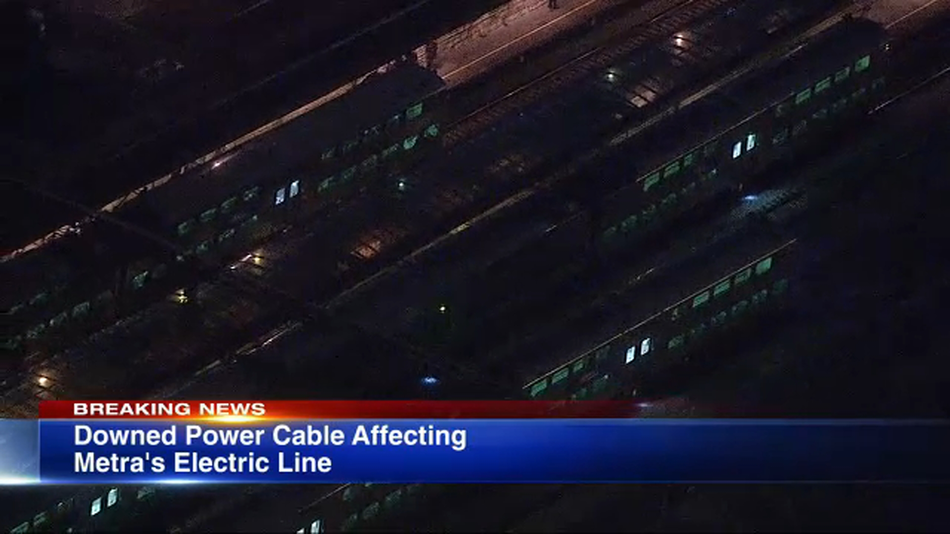 Metra Electric District's Blue Island service back on after downed wires