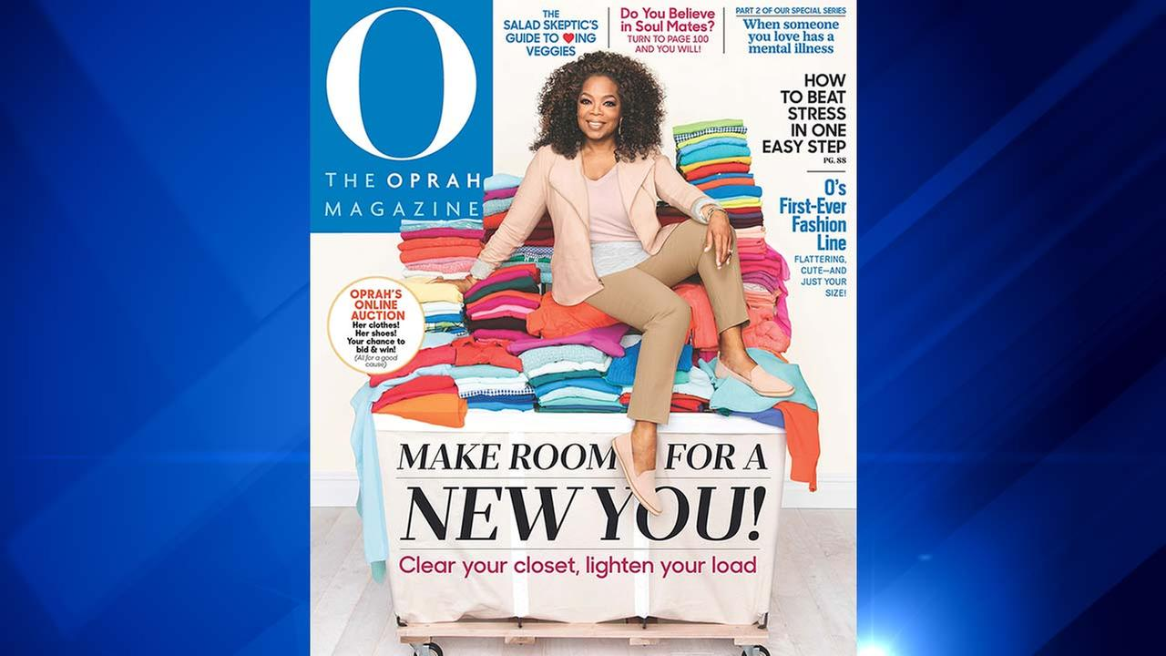 The March 2016 issue of O, The Oprah Magazine.