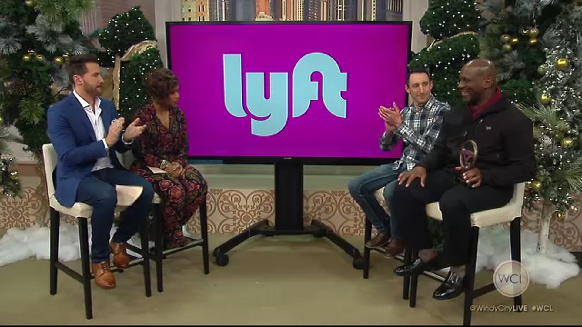 Ride-sharing company Lyft wants to get you to and from holiday parties safely this season.