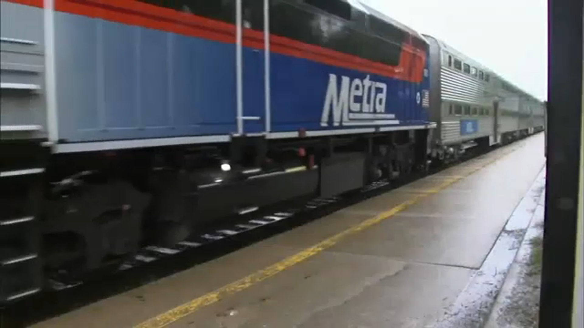 Riders vented about poor service on Metras busiest line Monday night in Western Springs.
