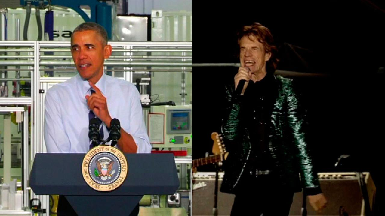 President Barack Obama and the Rolling Stones are headed to Cuba.