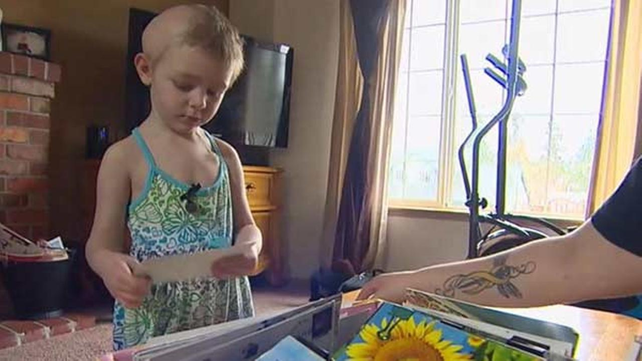 Ellie Walton was diagnosed with a brain tumor at just 4 months old.