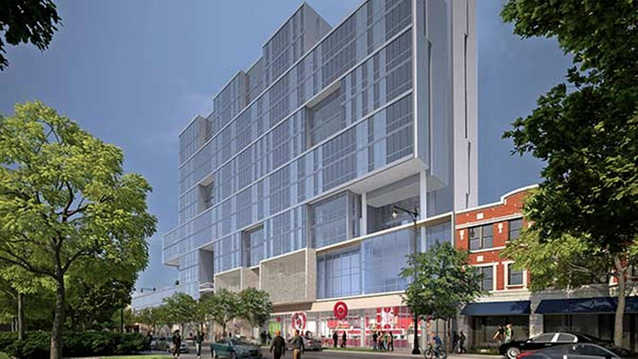 Official rendering of the planned Hyde Park Target store.