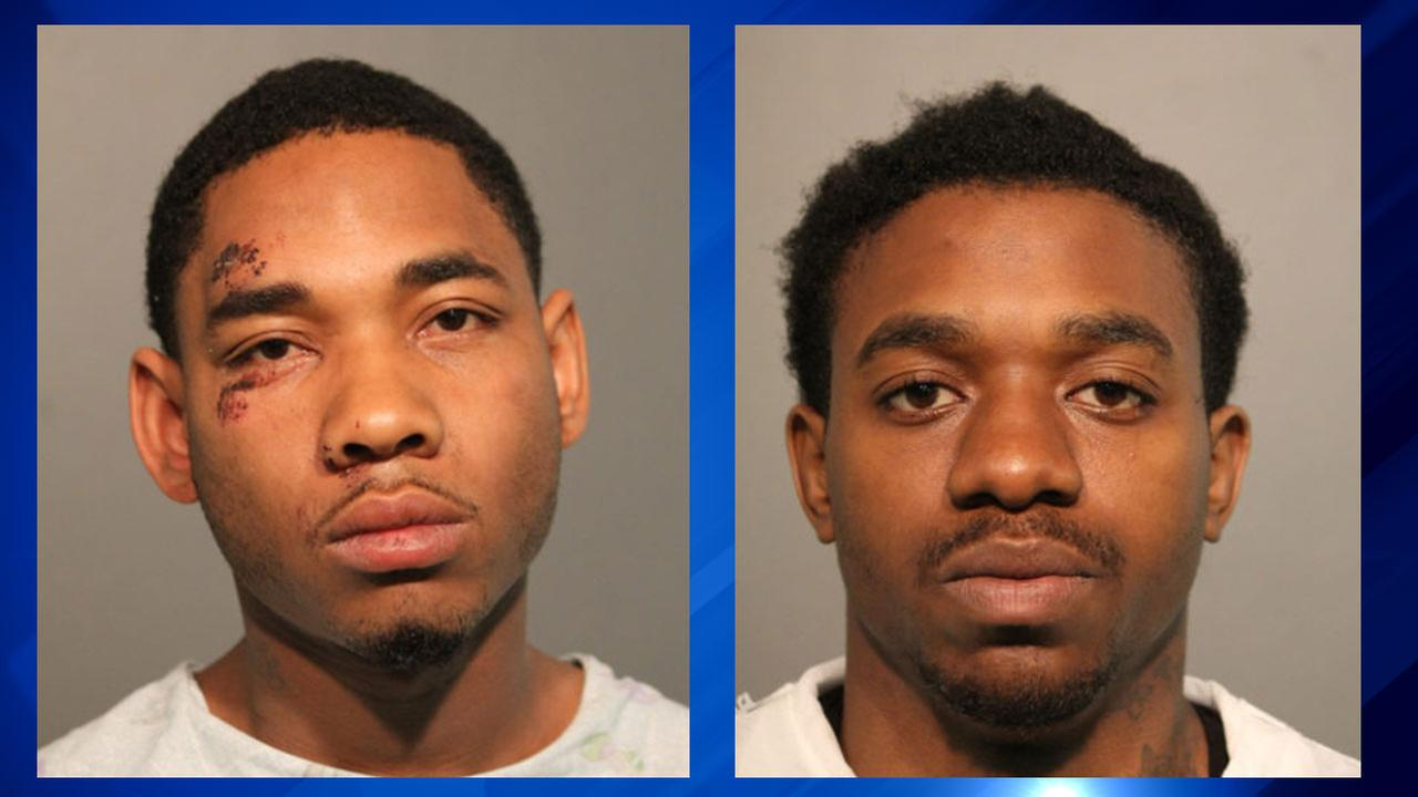 Lamar Williams, 24, (left) and Decorian Collins, 22, are charged with first-degree murder.
