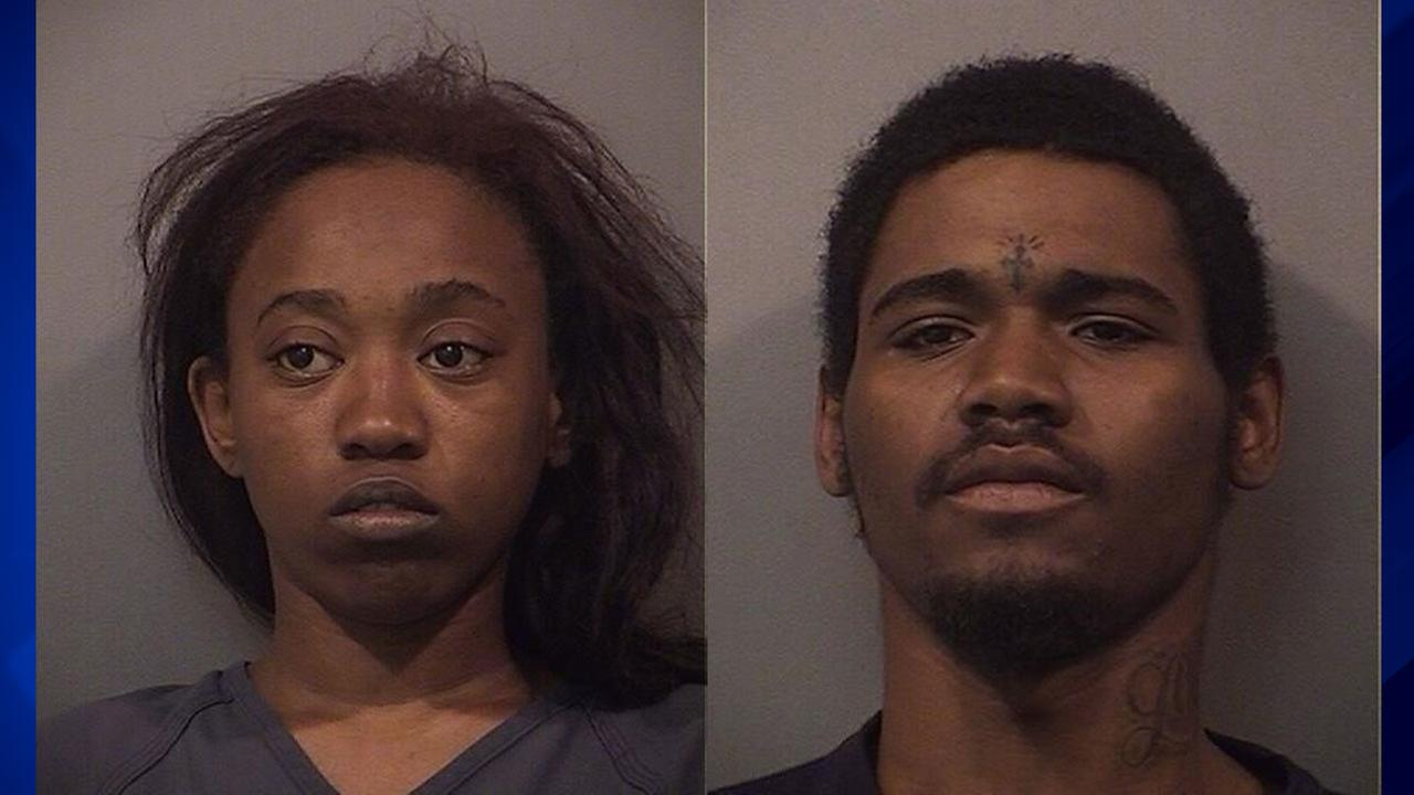 Alexis Alexander (left) and Kareem Jahbbar Williams (right)