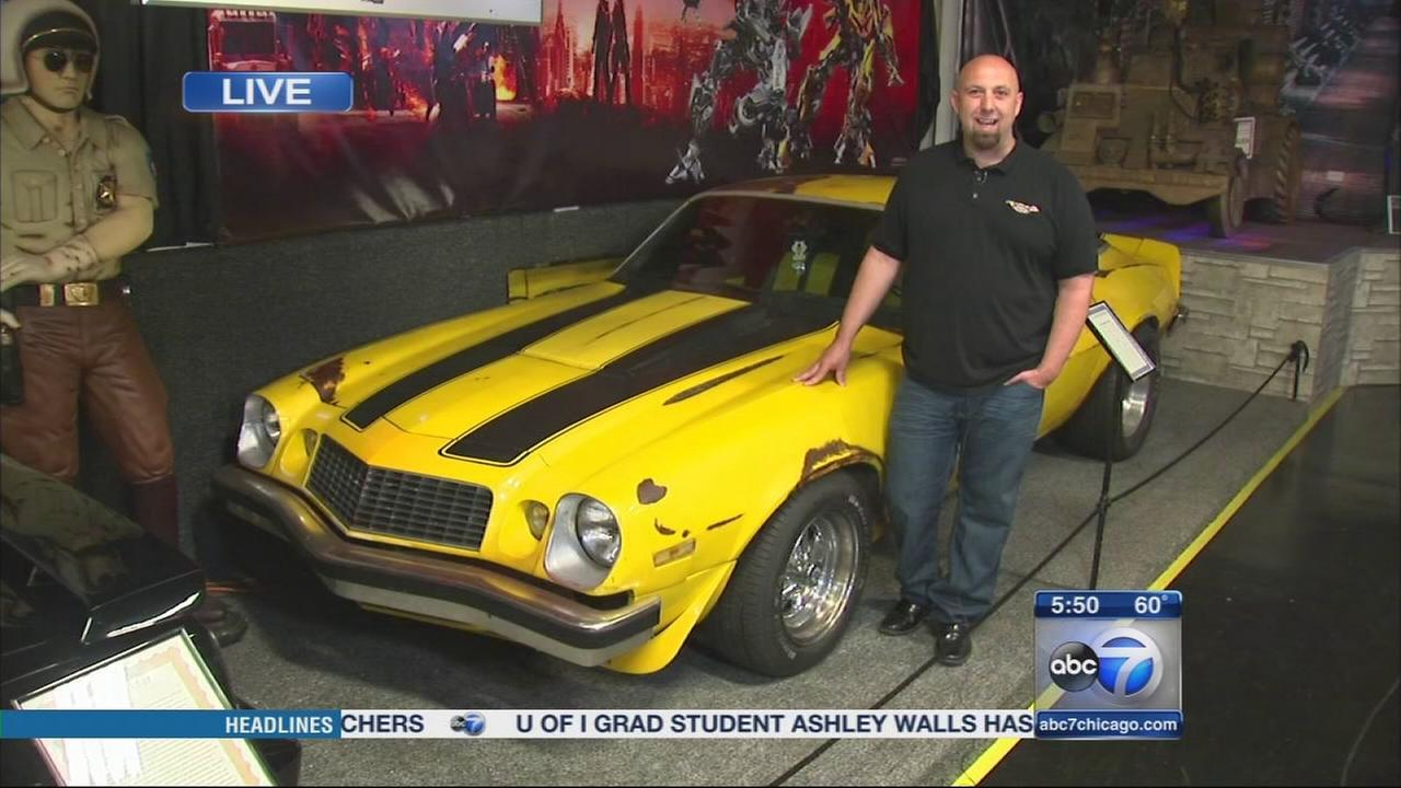 Volo Auto Museum features Bumblebee from Transformers