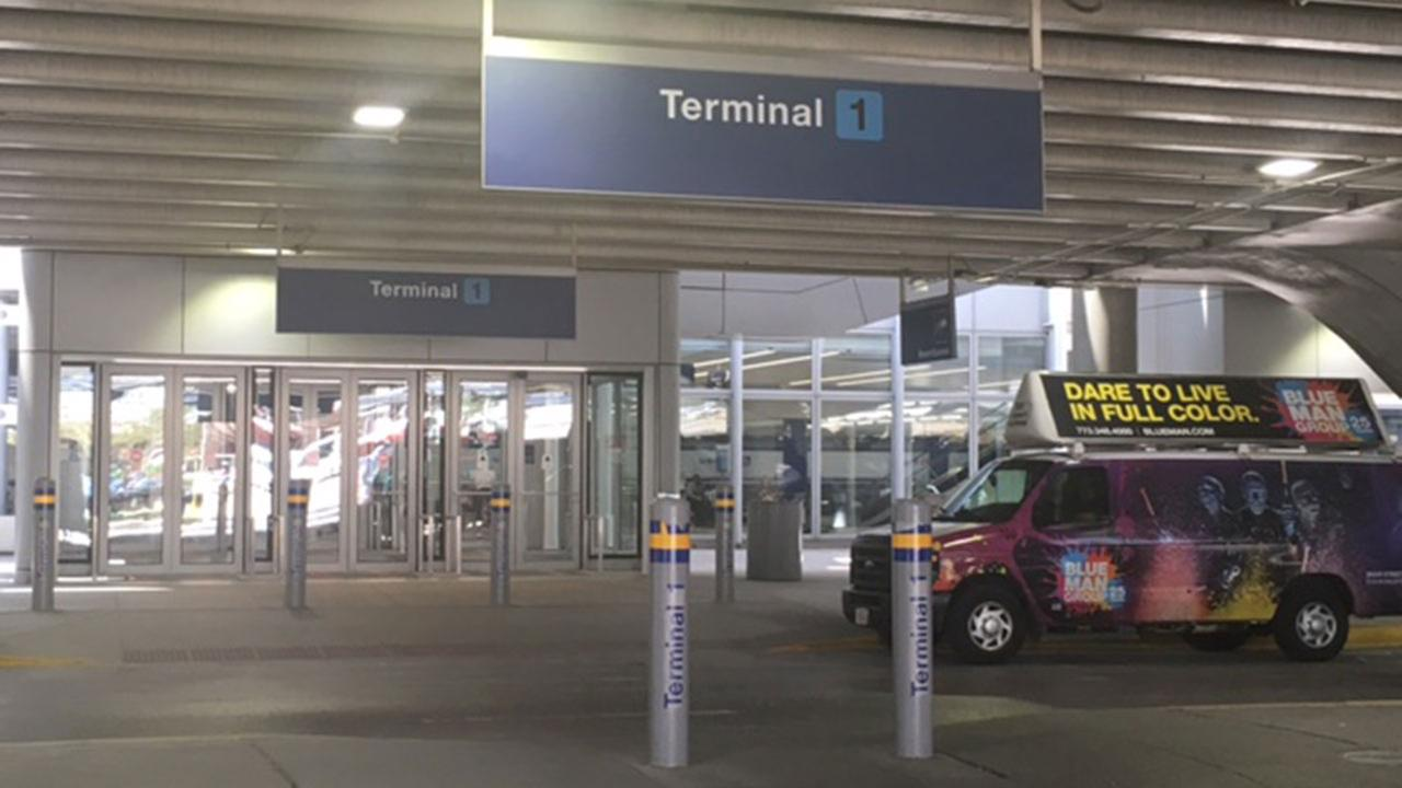 Child, 4, struck by van at OHare