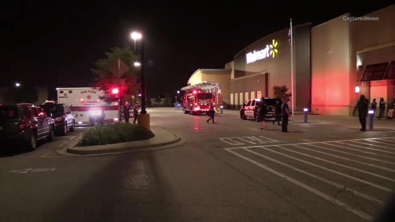 A Forest Park Wal-Mart was evacuated after a reported pepper spray attack.