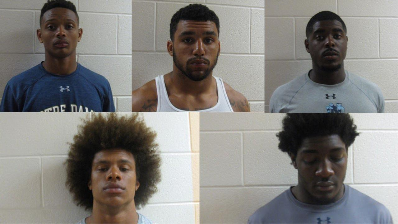 Notre Dame arrested football players