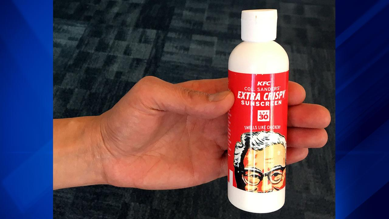 KFCs new marketing gimmick: Giving away scented sunscreen