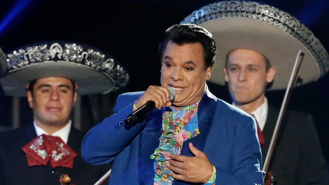 Singer Juan Gabriel