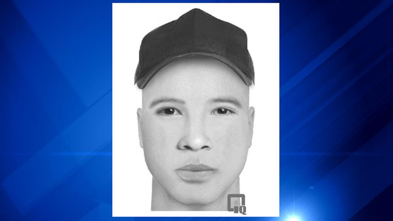 A rendering by the Oak Lawn Police Department of a suspect sought in two home invasions.