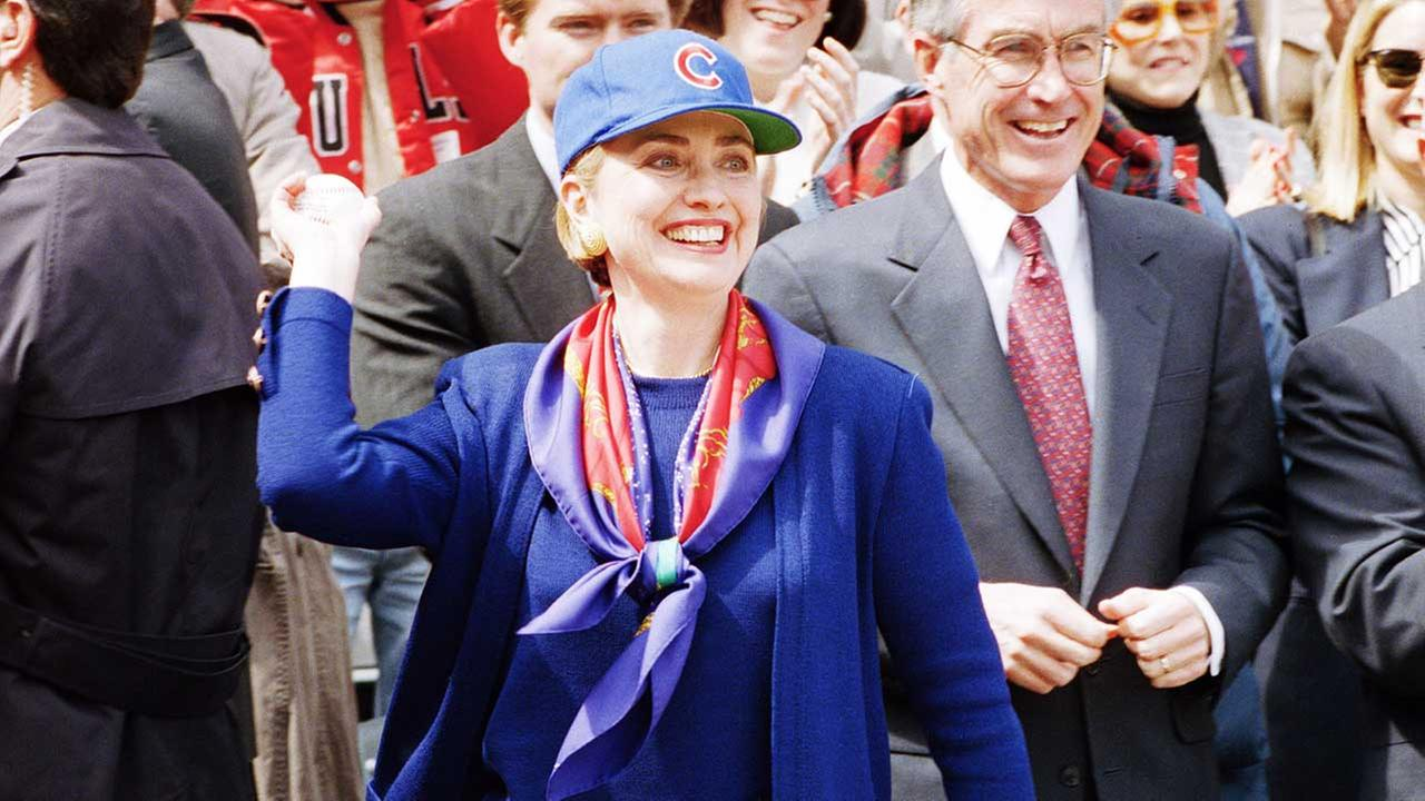 Hillary Clinton and the Chicago Cubs