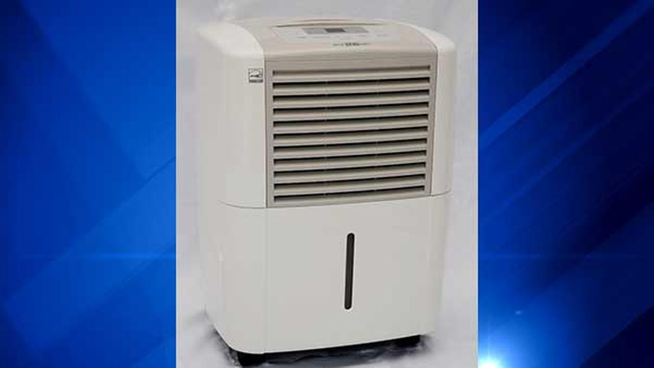 Dehumidifiers recalled for overheating, catching fire