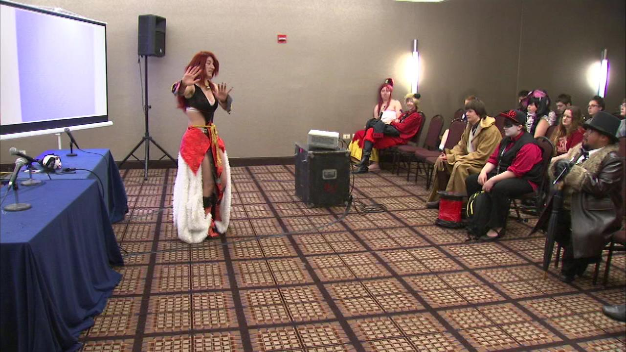 Thousands of anime fans are in Rosemont this weekend for the 4th annual Anime Midwest Convention.