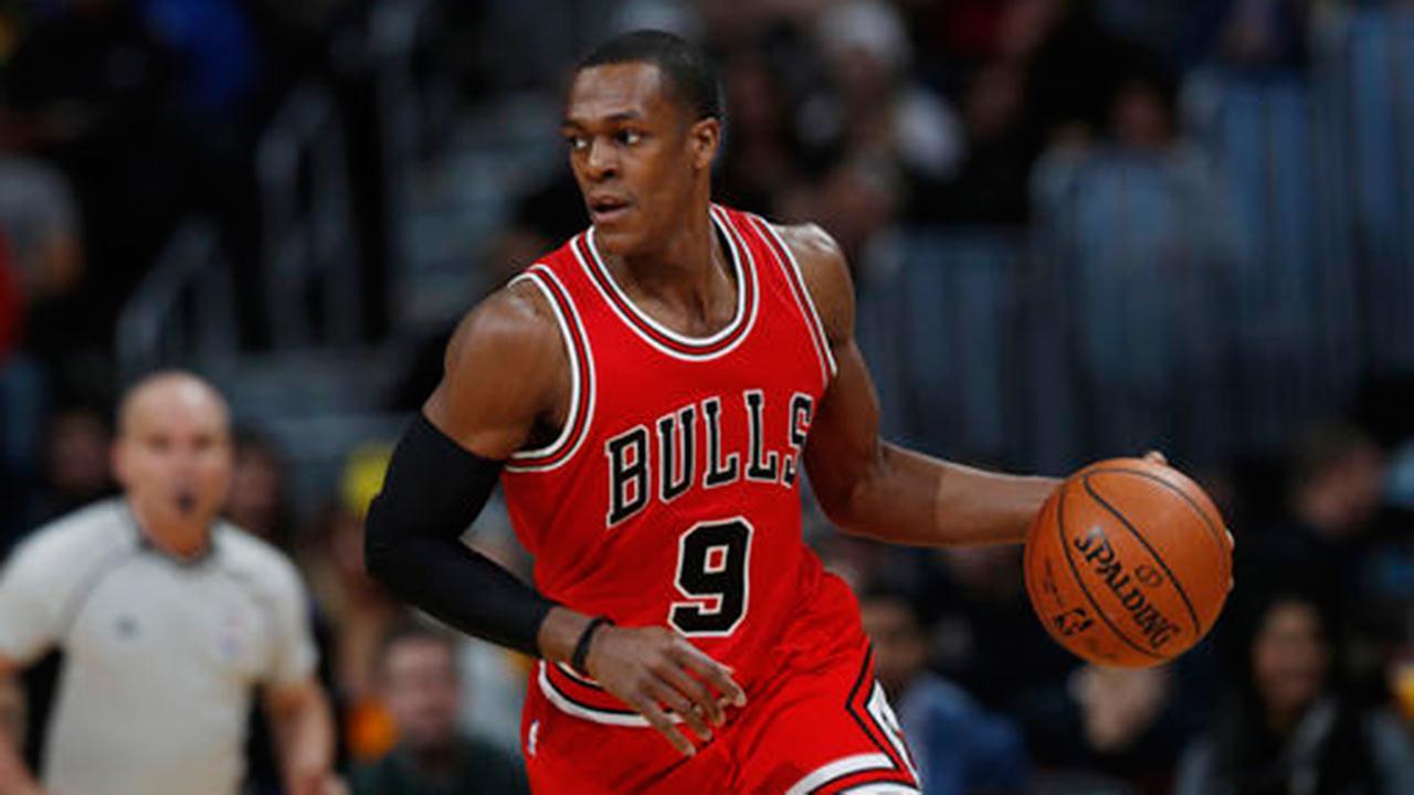 Chicago Bulls guard Rajon Rondo.
