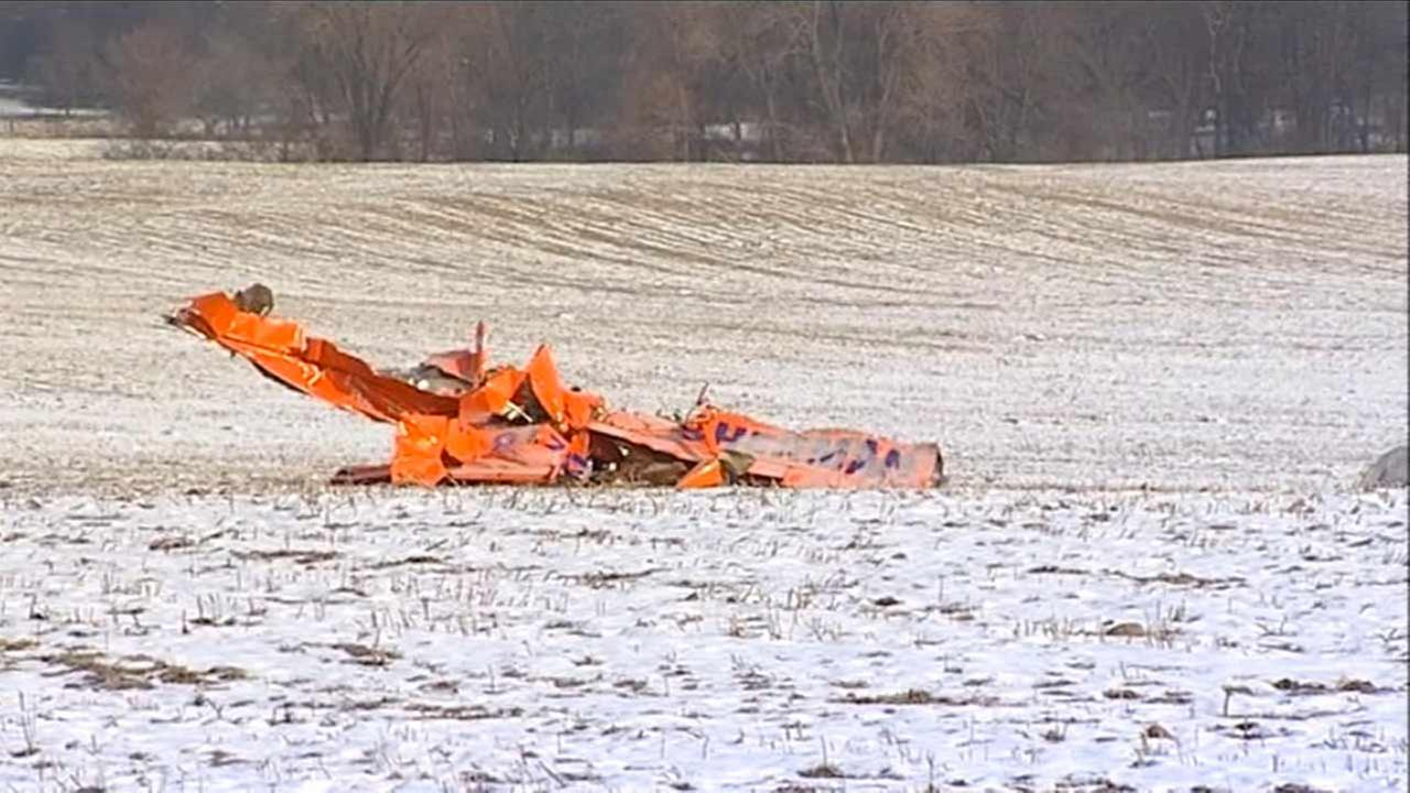 One person was killed when a single-engine plane crashed overnight in Marengo.