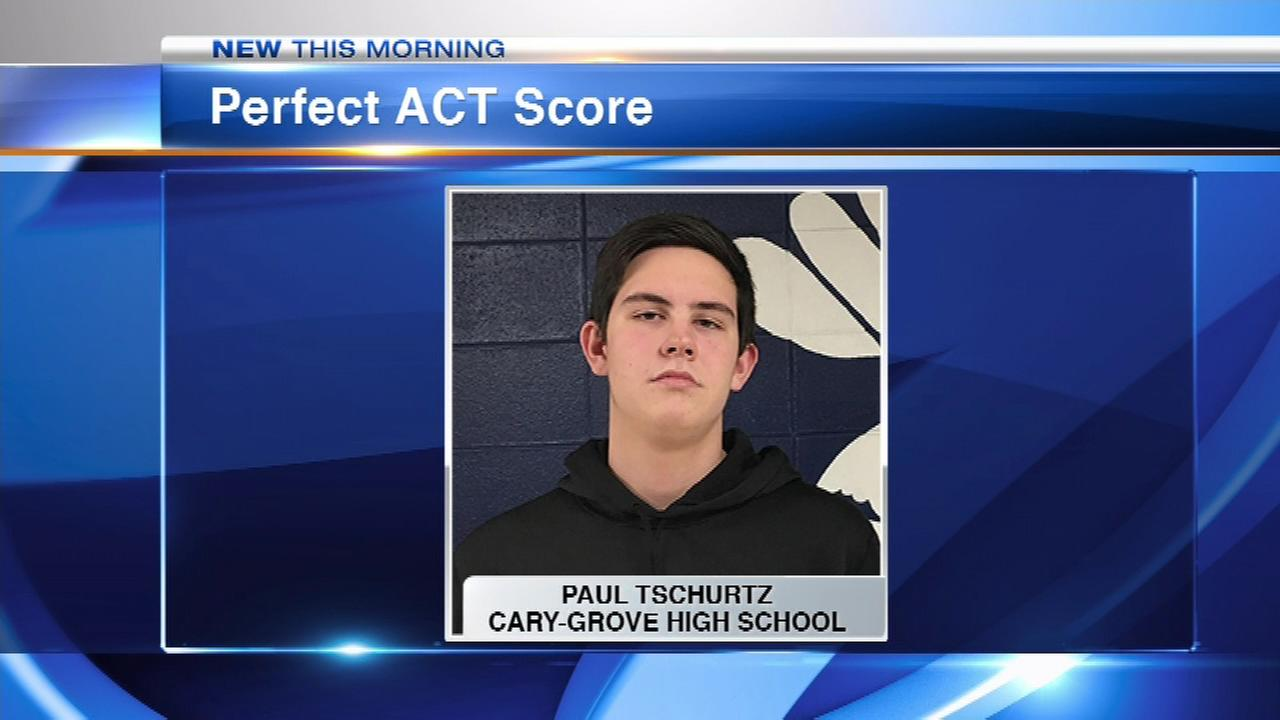 Cary-Grove student gets perfect score on ACT