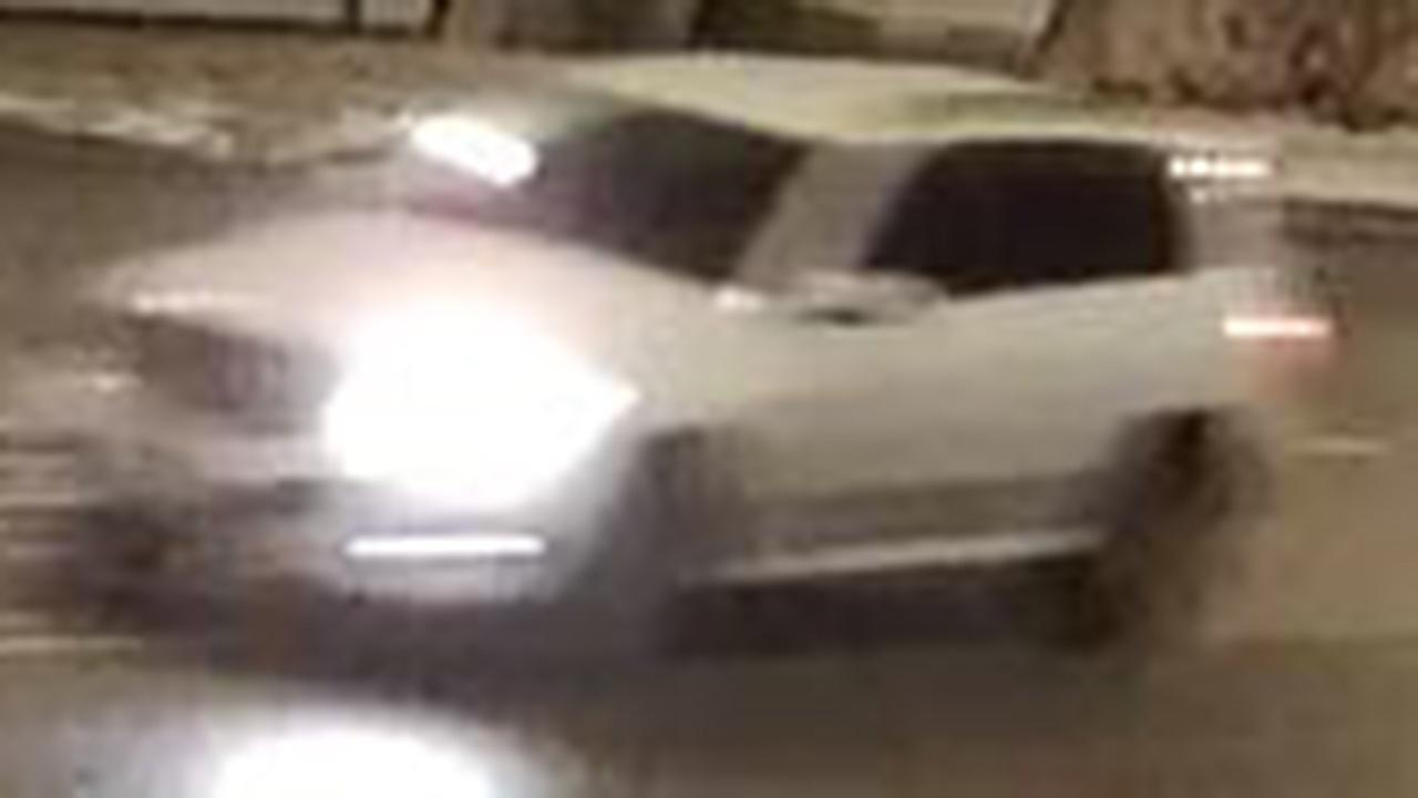 A surveillance image of a vehicle suspected in a fatal hit and run in the Englewood neighborhood last Monday.