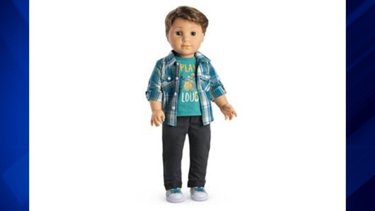 The Logan Everett doll is the latest American Girl doll.